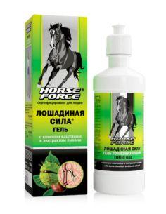 Horse Force Тонизирующий гель для вен с конским каштаном и экстрактом пиявки 500мл