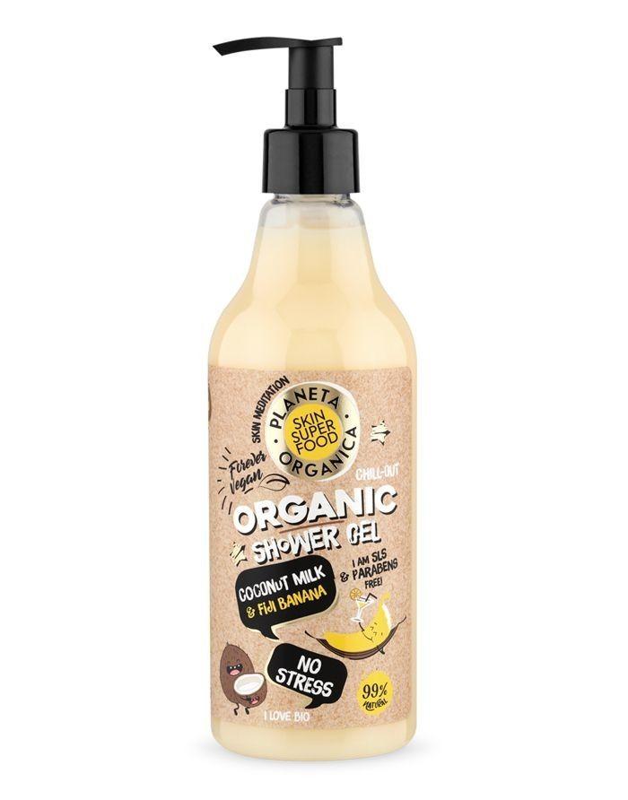 Planeta Organica Skin Super Food Гель для душа No Stress 500мл