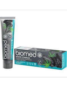 Biomed Charcoal Toothpaste White Complex 100g