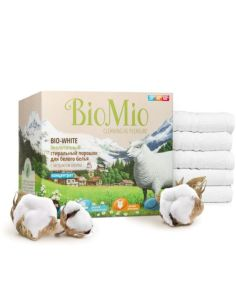 BioMio BIO-WHITE Eco Laundry Powder White Concentrate with Cotton extract 1500g