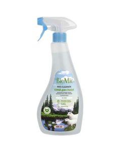 BioMio BIO-GLASS CLEANER Экологичное чистящее средство для стекол, зеркал, пластика. Без запаха. 500мл