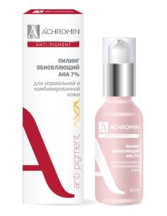 Achromin AHA-peel 7% for normal and combination skin 50ml