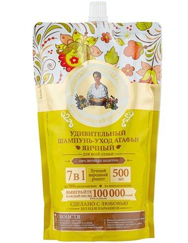 Агафья Удивительный шампунь Яичный 500мл