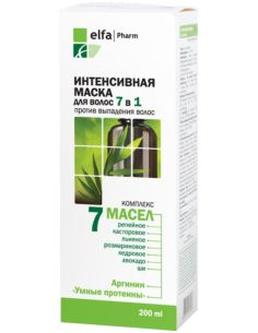 Elfa Pharm 7 oils Intensive hair mask 7in1 200ml