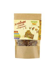 Vegan food Хлебцы льняные Морские 100гр