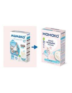 Mamako Каша Рисовая на козьем молоке 200г
