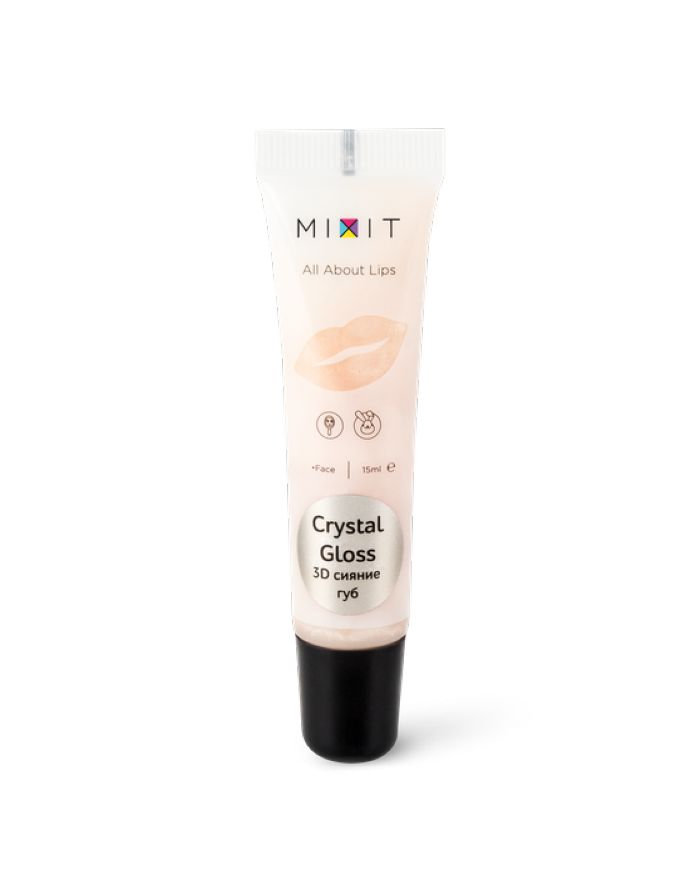 MIXIT All About Lips Crystal Gloss 15ml