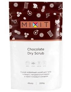 MIXIT Dry Scrub Chocolate 200g
