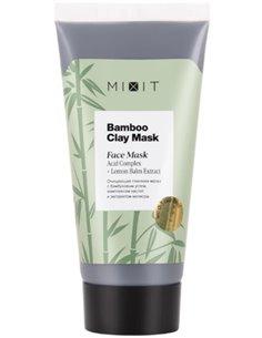 MIXIT Очищающая глиняная маска с себорегулирующим и противовоспалительным действием 50мл