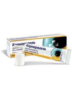 Корнерегель глазной гель Декспантенол 5% 5г