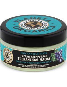 Planeta Organica Маска для волос Густая изумрудная Тосканская 300мл