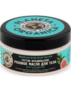 Planeta Organica Масло для тела Густое бразильское розовое 300мл