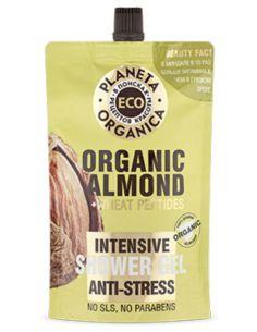 Planeta Organica ECO Organic Almond Антистресс гель для душа 200мл