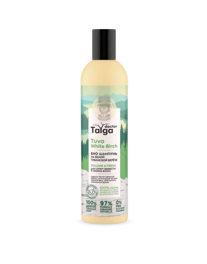 Natura Siberica Doctor Taiga Био шампунь для супер свежести и объёма волос 400мл