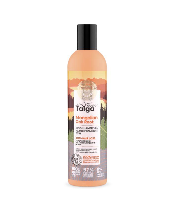 Natura Siberica Doctor Taiga Био шампунь укрепляющий против выпадения волос 400мл