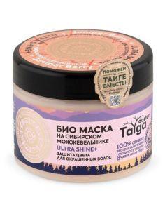 Natura Siberica Doctor Taiga Био маска защита цвета для окрашенных волос 400мл