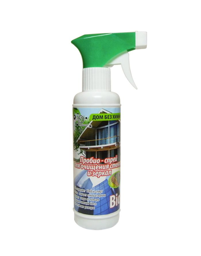 Microliz Probio-Spray for cleaning glasses and mirrors 250ml