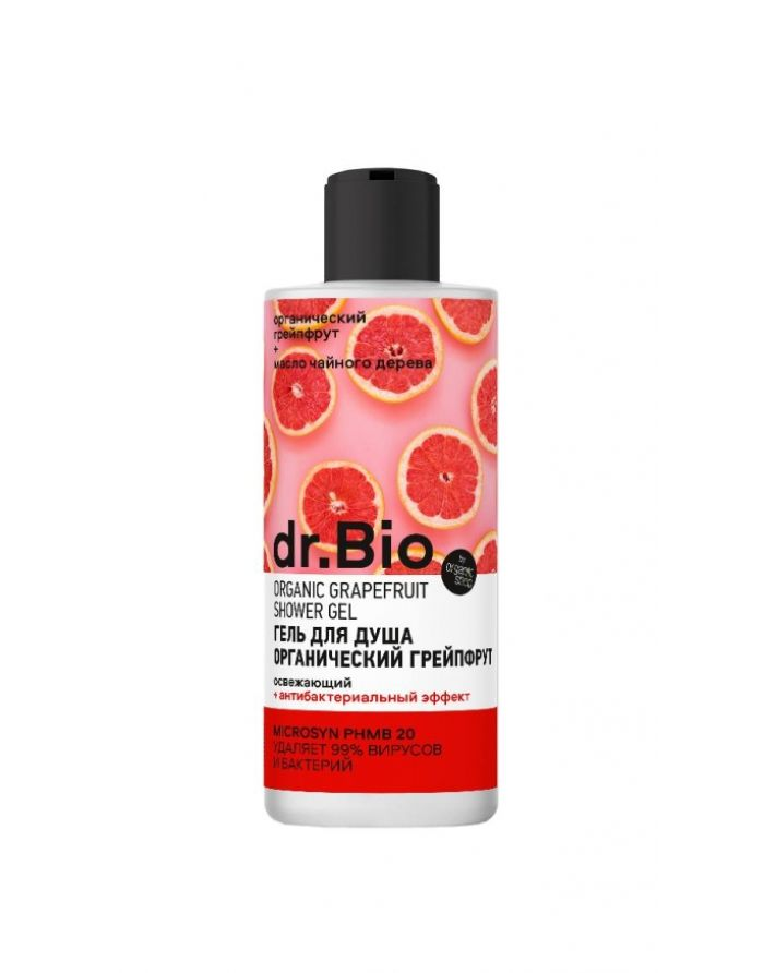 Organic Shop dr. BIO Shower Gel Organic Grapefruit Refreshing 300ml