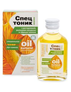 Special tonic for stones Chanterelle with milk thistle, corn stigmas and black caraway seeds 100ml