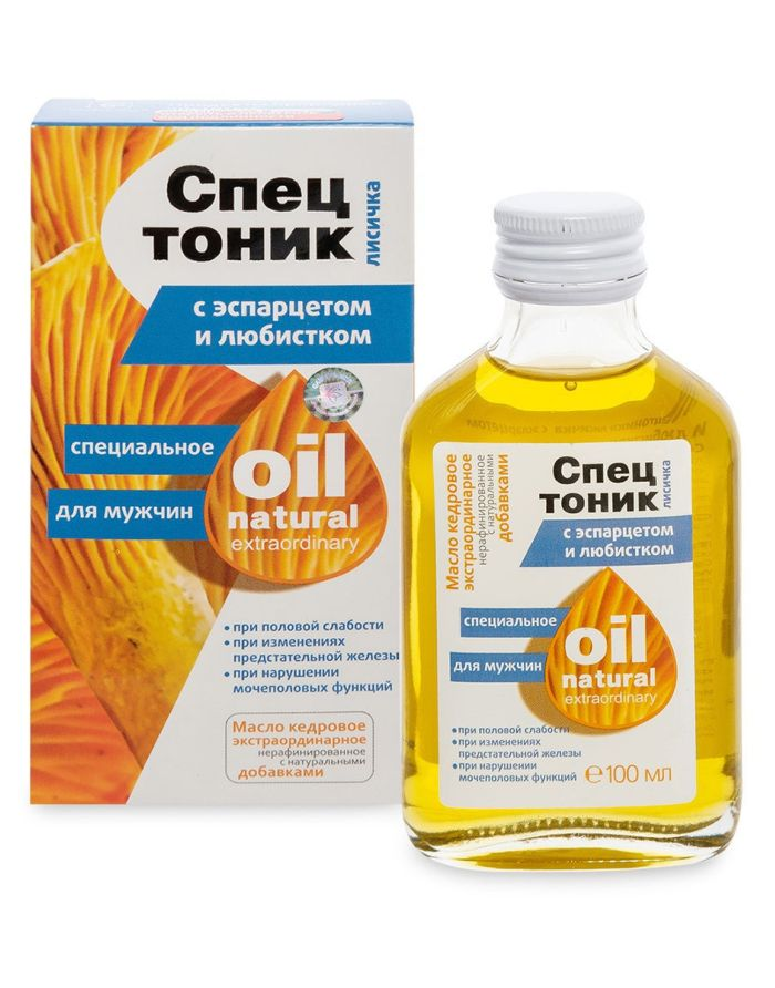 Special tonic for men Chanterelle with sainfoin and lovage 100ml