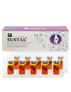 Sustal 'vegetable capsule for joints 10caps. x 0.5g x 5ml