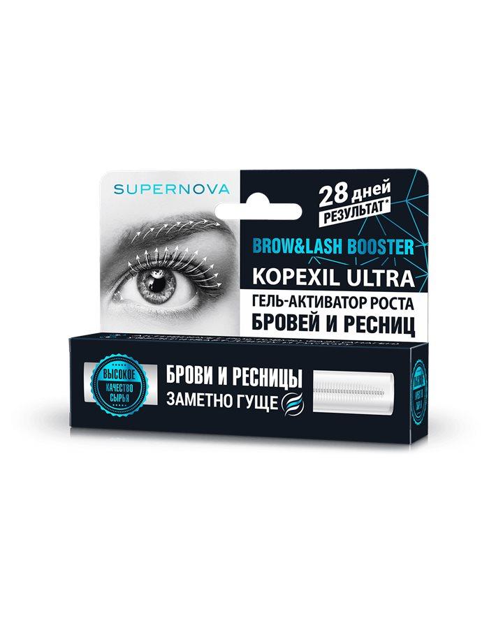 SUPERNOVA Gel-activator for eyebrow and eyelash growth 7ml