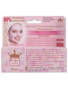 Dr. Kirov Cosmetic Company Маска-крем Система Гиалуроновых Кислот и Витаминов 60мл