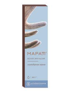 MARAL Turpentine baths White emulsion 80g