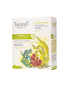 Teana AlgoBotoRelax ABR4 Cleansing, peeling and rejuvenating face mask with Papaya, Arginine and Myoxinol 5x30g